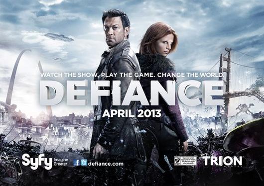 Defiance Season 1 2013 Syfy Poster