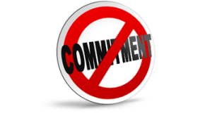 No commitment graphic