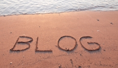 Blog or get washed away